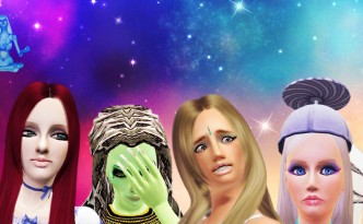 Sims 3 characters