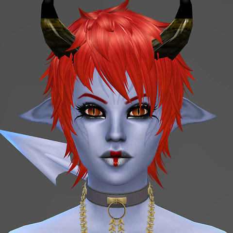 Sims 4 Character - Demon
