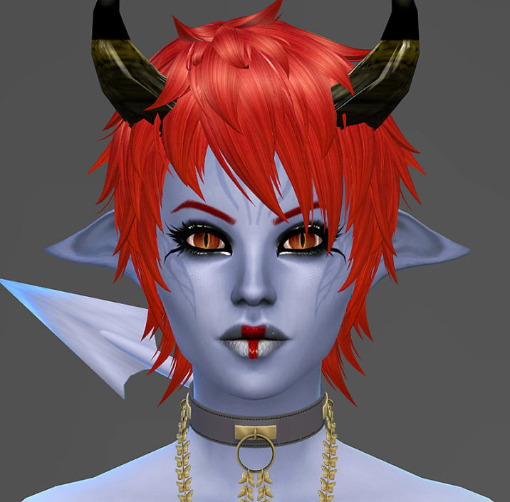 Sims 4 Character - Demon