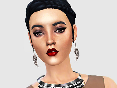 Sims 4 Character - FKA twigs