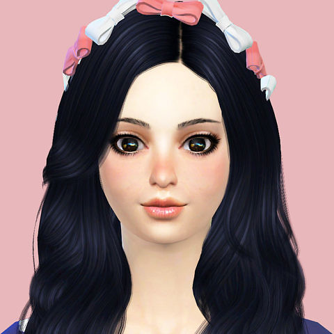Sims 4 Character - Cute Girl