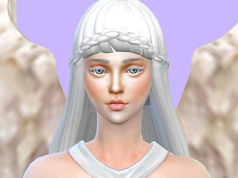 Симс 4 персонаж Ангел