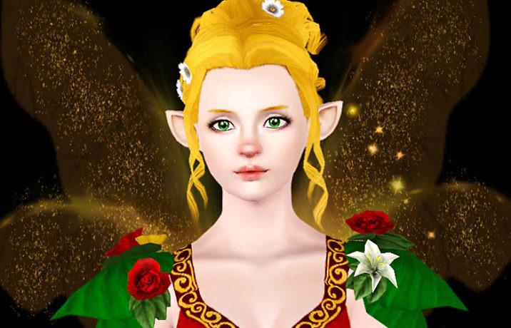 Симс 3 персонаж Рождественская фея