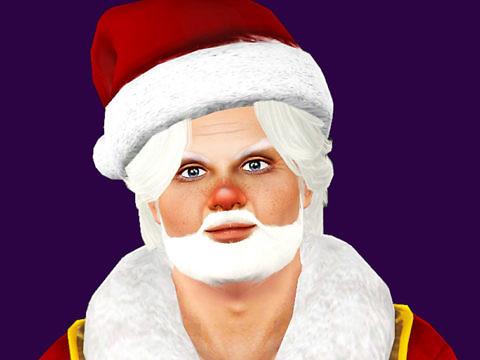 Симс 3 персонаж Санта-Клаус