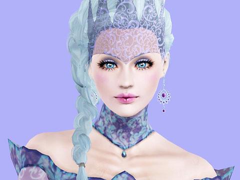 Симс 3 персонаж Снежная королева