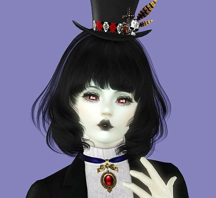 Симс 3 персонаж Вампир Сильвия