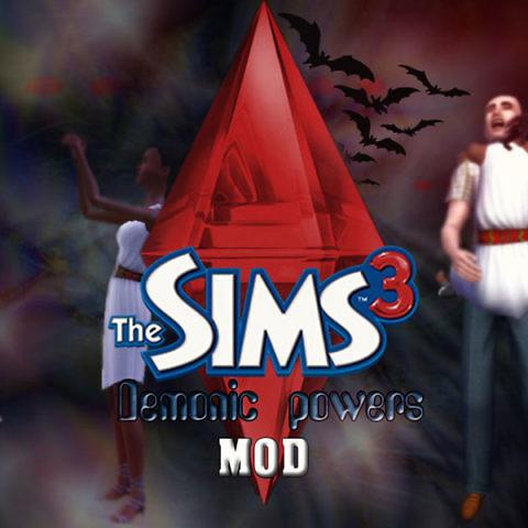 Симс 3 демонические силы - Мод