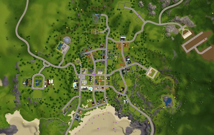Симс 3- Исправленные карты городов